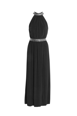 Embellished Stretch Gown -0
