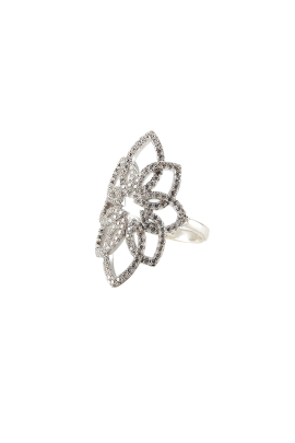 Snow Leaf Ring-2
