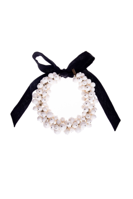 Ivory Orb Necklace-0