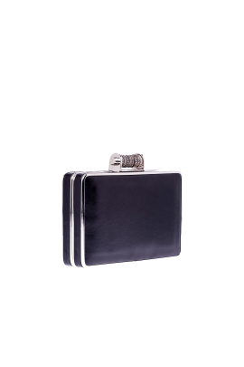 Black Leather Minaudiere-2