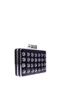 Black Crystal Minaudiere -2