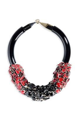 Collana Strass Necklace-0