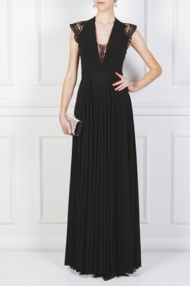Laced Jersey Gown-1