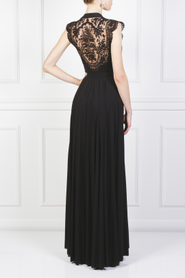 Laced Jersey Gown-3