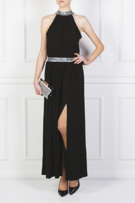 Embellished Stretch Gown-1