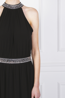Embellished Stretch Gown -6