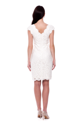 White Paillete Dress-2