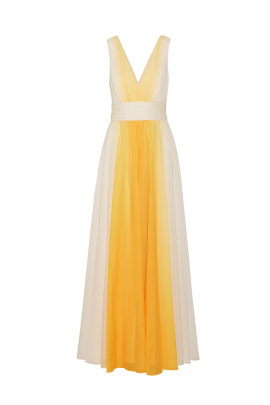 Ombre Chiffon Dress-0