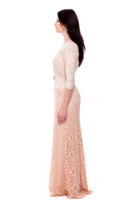 Petal Bloom Embroidered Dress-1
