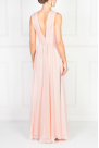 Flowing Pink Maxi Dress