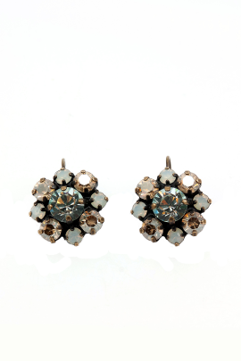 Moon Flower Earrings-0
