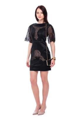 Angeles Embroidered Dress -5