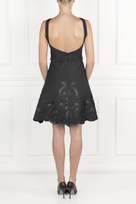 Black Valeria Dress-3