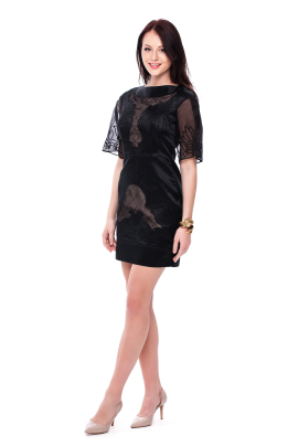 Angeles Embroidered Dress -4