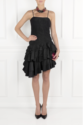 Black Flamenco Dress-1