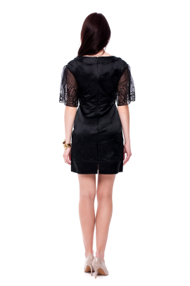 Angeles Embroidered Dress -3