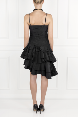 Black Flamenco Dress-3