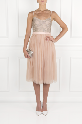 Peach Ballet Dress / VILNIUS-0