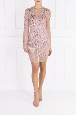 Blush Rose Crystal Dress -0