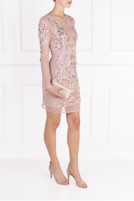 Blush Rose Crystal Dress -1