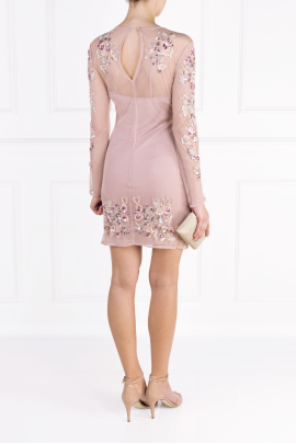 Blush Rose Crystal Dress -2