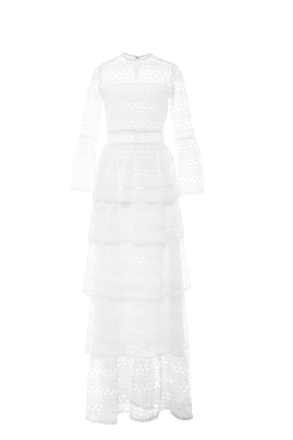 White Liliane Dress / VILNIUS-0