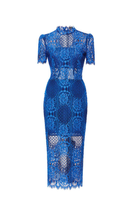 Blue Delila Dress / VILNIUS-0