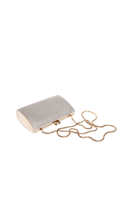 Champagne Brass Elegant Bag-3