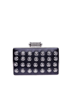 Black Crystal Minaudiere -0