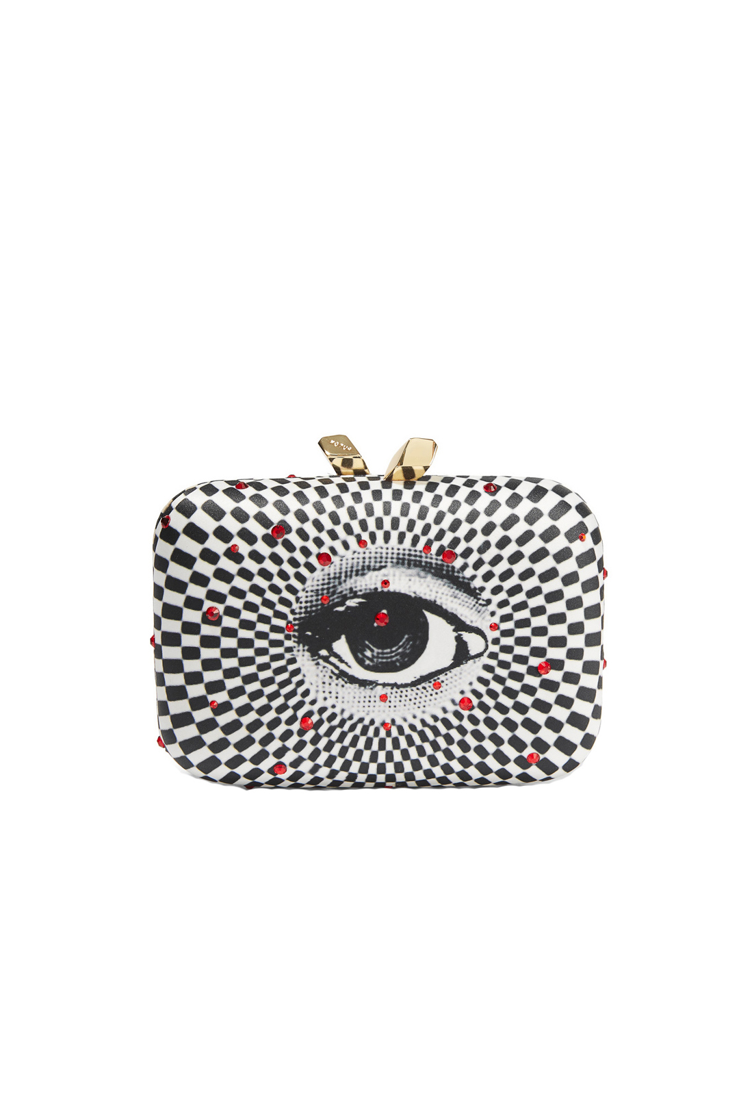 Morley Printed Satin Clutch